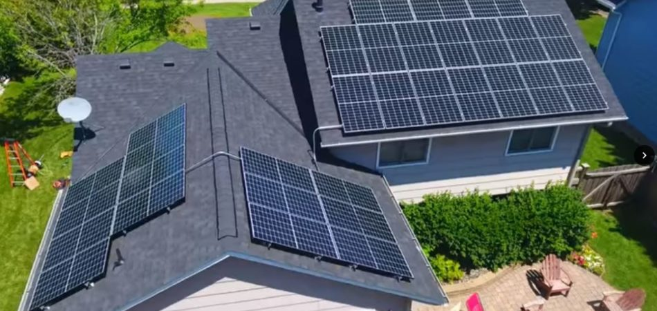 Apple Valley Mn 9 92kw Residential Solar Electric System